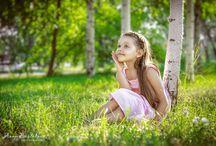 Фото детей летом