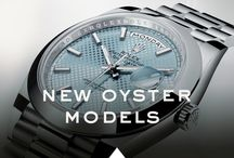 New Rolex Oyster Models / The new Rolex Oyster watches were revealed at Baselworld 2015.  Discover the innovative features and iconic aesthetics of the new Rolex 2015 collection. / by ROLEX