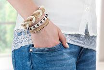Armbänder / Häkelarmband