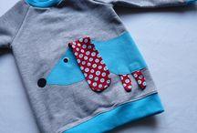 Аппликации на детской одежде