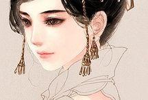 Drawn beauty