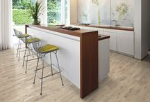 Kitchens & Wood / Bring wood to the heart of your home with a Kährs floor. Whatever inspires you to cook - we have the perfect floor for your dream kitchen.