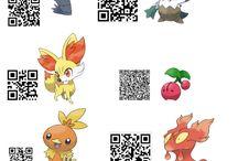 Qr codes pokemon Sun