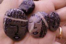 I miei sassi / Piccole creazioni con sassi raccolti a mare