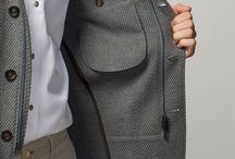 Male blazers interior details