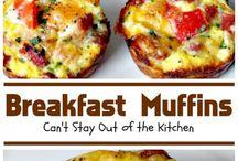 breakfast muffins/ - ideas