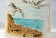 A Beach/boats/litehouse/wetlands/waterfowl