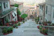 Corinaldo Landscape / Landscape e corner of the medieval village!