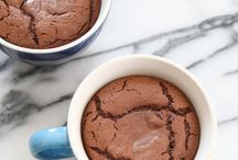 Best lava! Plus cocoa powder and vanilla extract, brown sugar, dark chocolate melted in the milk(40s in microwave)