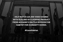 #ILoveHabitat / A Good Exchange Between Mohawk Flooring and Habitat for Humanity
