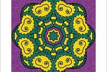 Mandalas #Colorfy