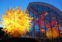 Glass by Chihuly / by CAROLYN WESNER