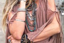 Bohemian/hippie fashion