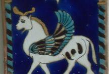 Mythology winged