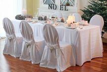 Tischwäsche und Dekoideen / Edle Tischwäsche, feine Tischdecken, z. B. aus Leinen oder auch pflegeleichten Materialen - dazu werden saisonale Blumen- und weitere Ideen zur Dekoration kombiniert. Anlässe gibt es viele, die Tafel schön zu decken: Weihnachten, eine Familienfeier wie Taufe, Geburtstag oder natürlich eine Hochzeit!