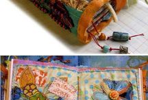 Fabric journals and others