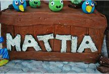 Angry Birds Cake /  for Mattia <3