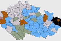 mapy ČR