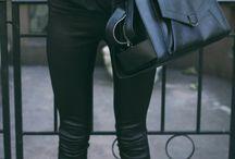 All black  / All black fashion