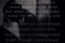 Song Lyrics / by Amy Dean