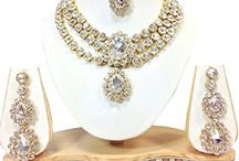 Indian Bollywood Traditional Designer Polki Kundan Women Bollywood Necklace Set