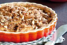 Æblekage tærte