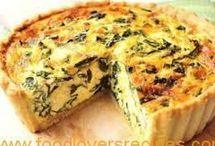 sweet and savoury tarts