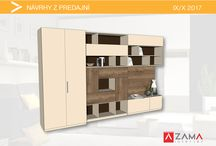 Knižnice / Bookcases / Dizajnové knižnice navrhnuté na mieru / Bookcases design ideas