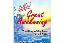 My Writing / Sally's Great Awakening is a book resulting from collaboration with my loving partner and partner in loving, Guru Jah. This e-book for all ages tells the tale of Sally, a snowflake, who in her quest to gain personal knowledge, learns to let go of her own ego in order to share in oneness with the entire Universe.