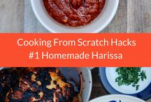 Cooking from Scratch Hacks / Great hacks from Cook It With Kids to make cooking from scratch super easy