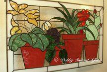 Mozaik cam paneller