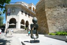 Palma de Mallorca. / Palma de Mallorca comes as a surprise to many people - it is stylish, sophisticated, intimate, yet bursting with life. Located on the southern shores of Mallorca, the island's capital city looks out over the sparkling blue seas of the Mediterranean