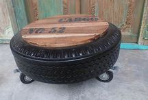 Tyre furniture and ideas
