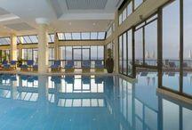 Spa pool inside
