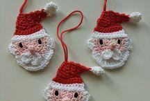 Crochet Christmas decorations