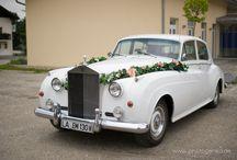 Autos für die Hochzeit