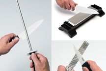 Sharpen Your Kitchen Knifes Using Household Tools