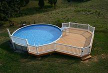 Pool Decks/Patios / by Tammy Pittman