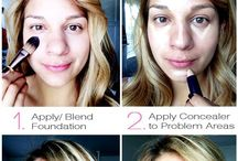 Skin care and make up