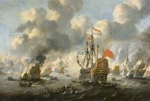 ships paintings / oil paintings of sea battles and ships from history