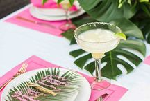 Tropical Chic - Jess's bridal shower