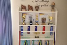 trophy storage