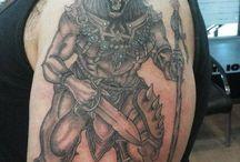 Dövme modelleri / aslan dövmesi  savaşçı aslan dövme tattoo lion tattoo