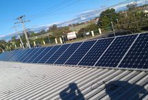 Commercial Solar / Design and installation of commercial solar power systems