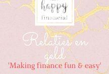 Relaties en geld / Geldzaken bespreekbaar maken met je partner of omgaan met een partner die niets van de financiën wil weten of een partner die veel minder verdient?