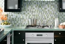 Glass top kitchen