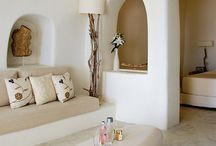 cycladic decoration rooms
