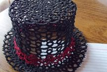 ❤Tatting hats♚❤