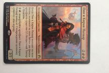 Russian Foil Magic the Gathering cards / Many Russian Foil Magic the Gathering cards