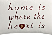 ♥Home is Where the Heart Is♥ / Ideas for the day when we build our dream home :)